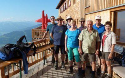 Alpenwanderung im Wilden Kaiser