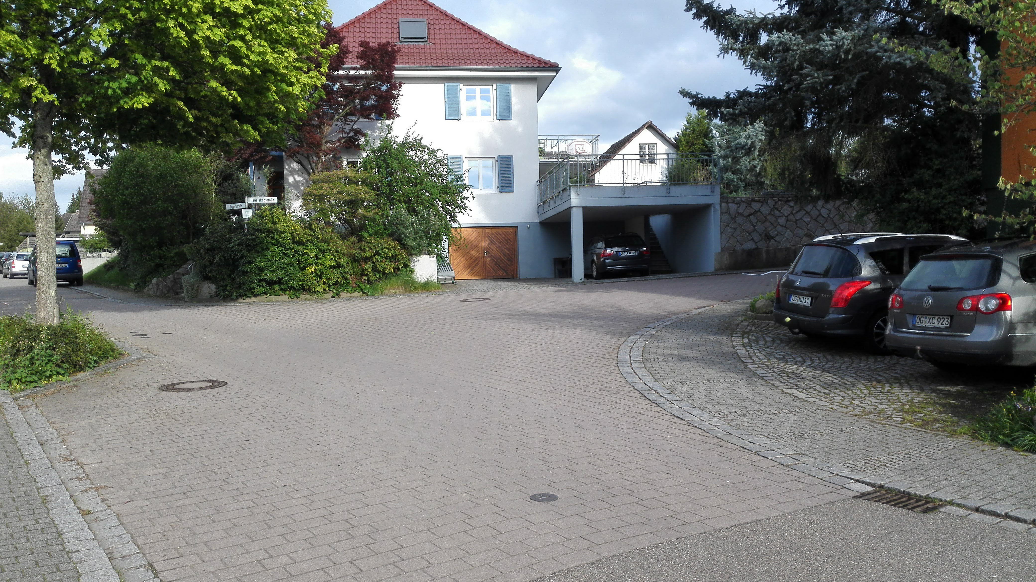 Renchen, Kappelstraße Ecke Hansjakobstraße