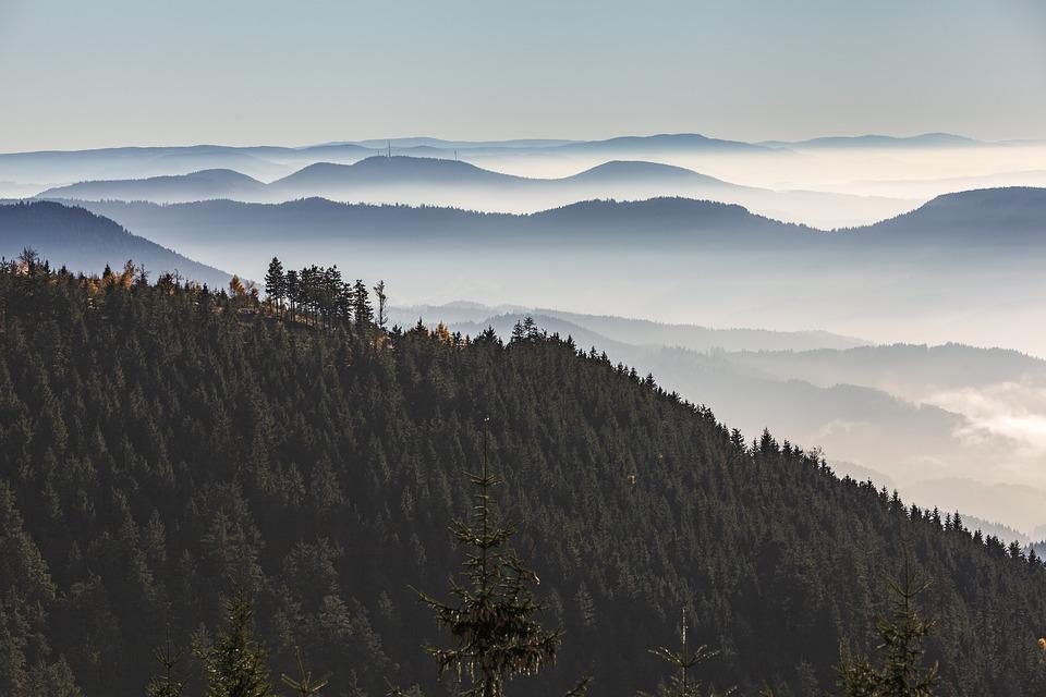 Über die Höhen des mittleren Schwarzwaldes -ausgebucht